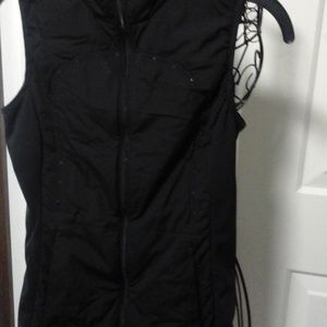LuluLemon black vest.  Size 4